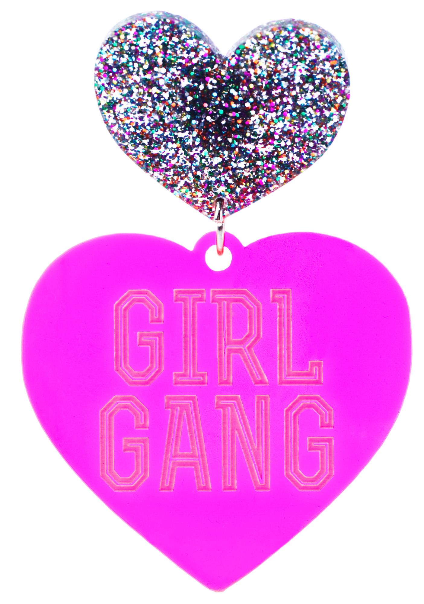 Haus of Dizzy Hottie Girl Gang Earrings