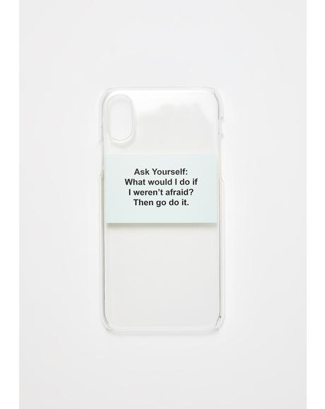 Go Do It Phone Case