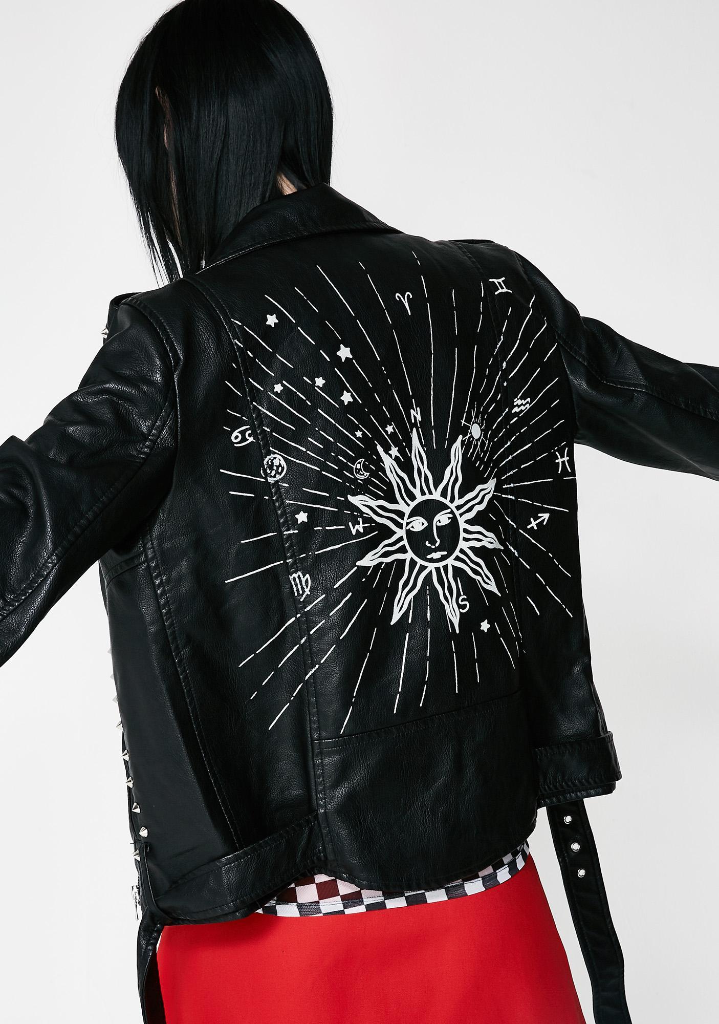 Whatz Ur Sign Moto Jacket