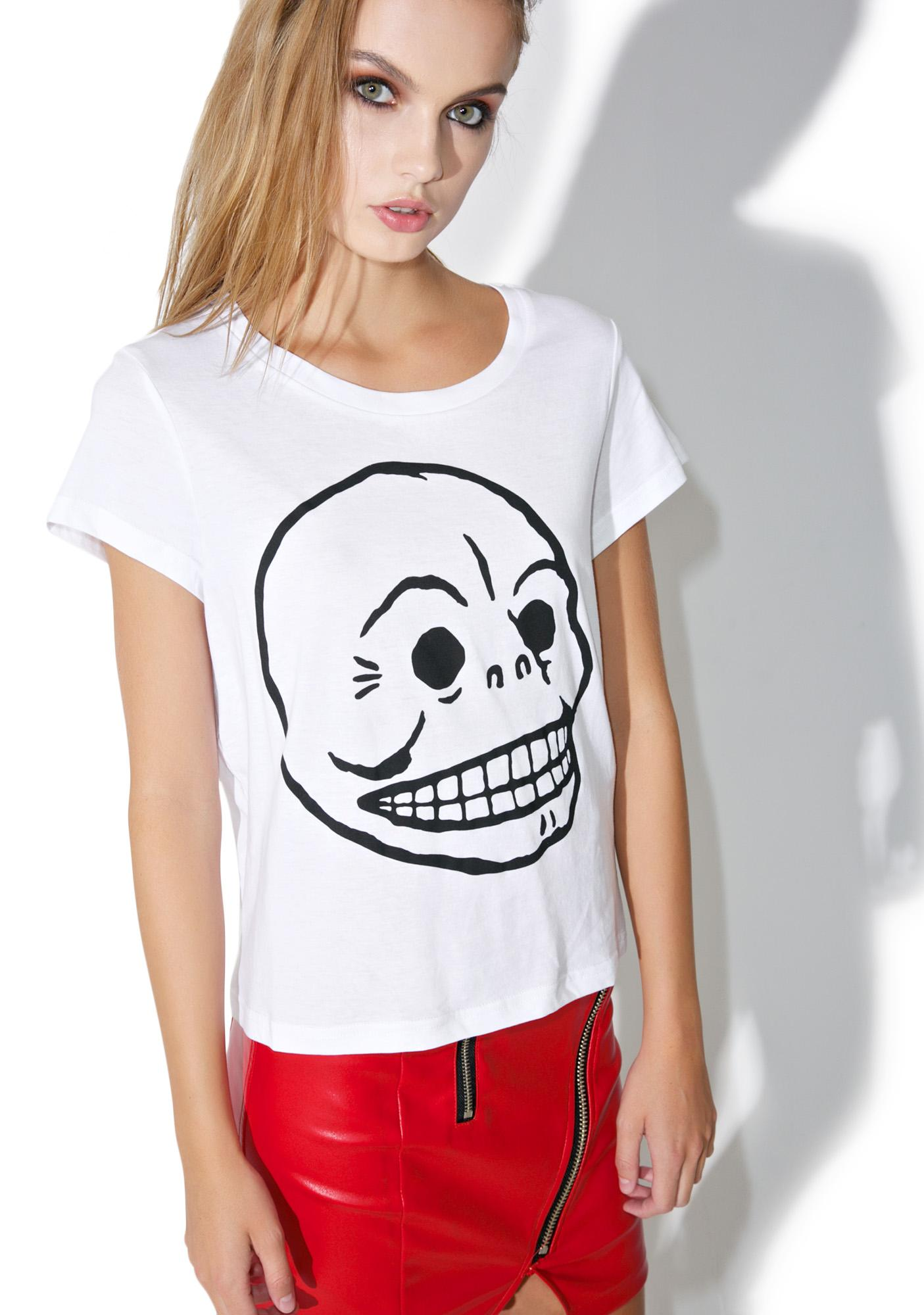 Cheap Monday Have Cracked Skull Tee