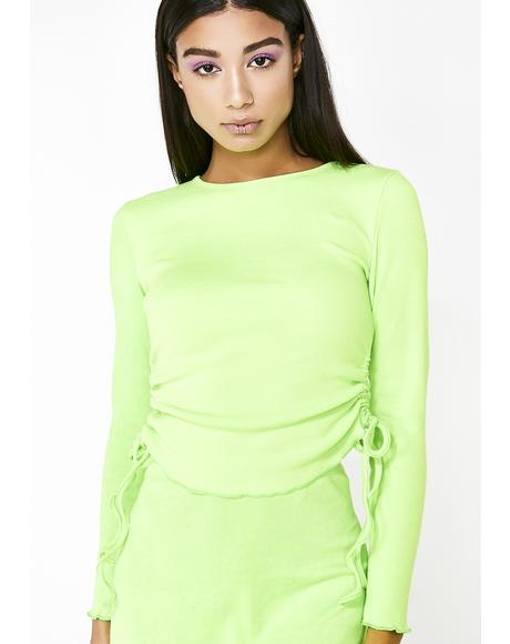 Absinthe Long Sleeve Top