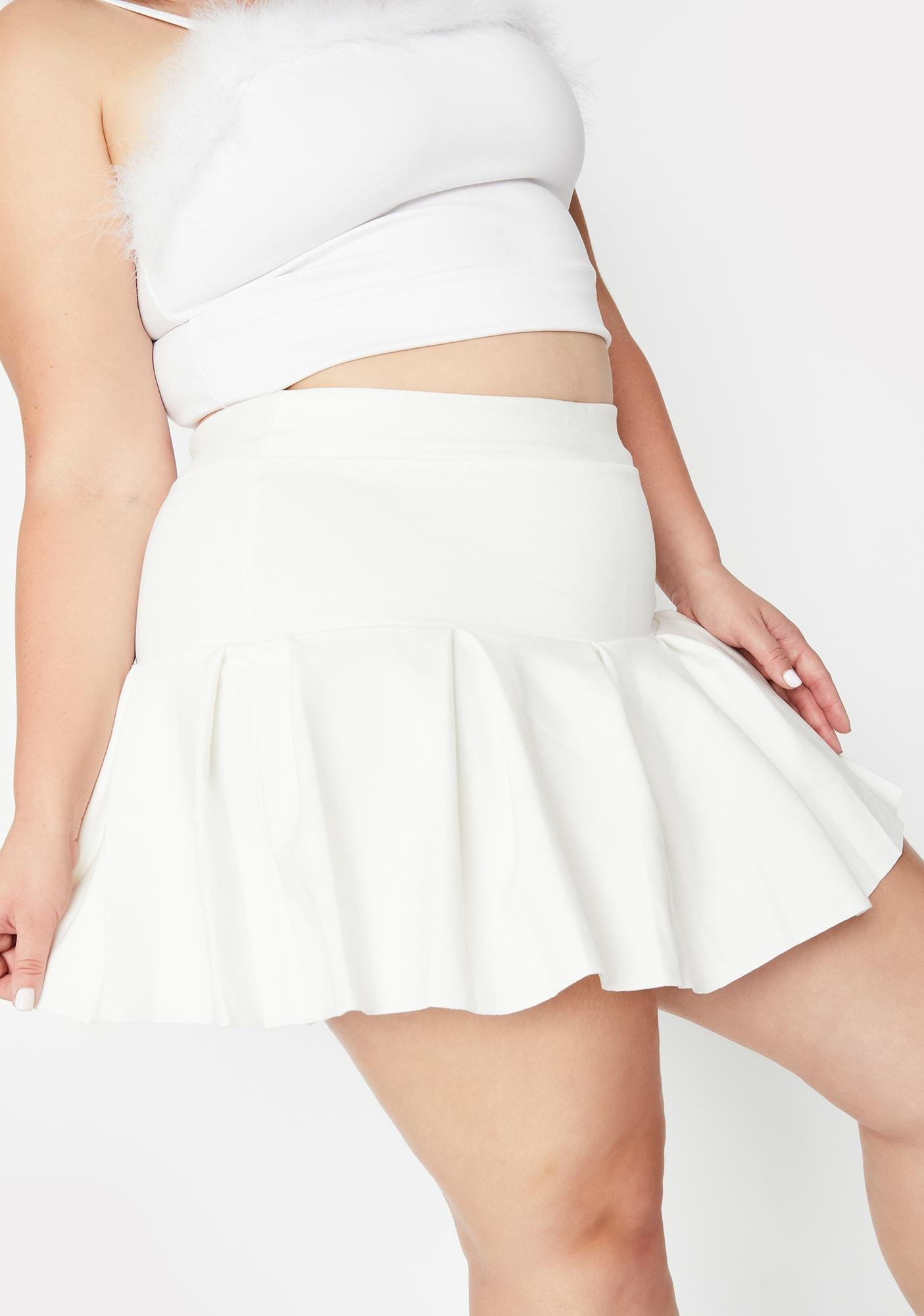 Pure Miss Wicked Scholar Pleated Mini Skirt