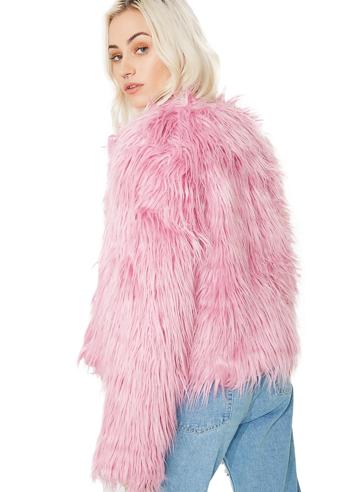 Glamorous Luving U Shag Jacket