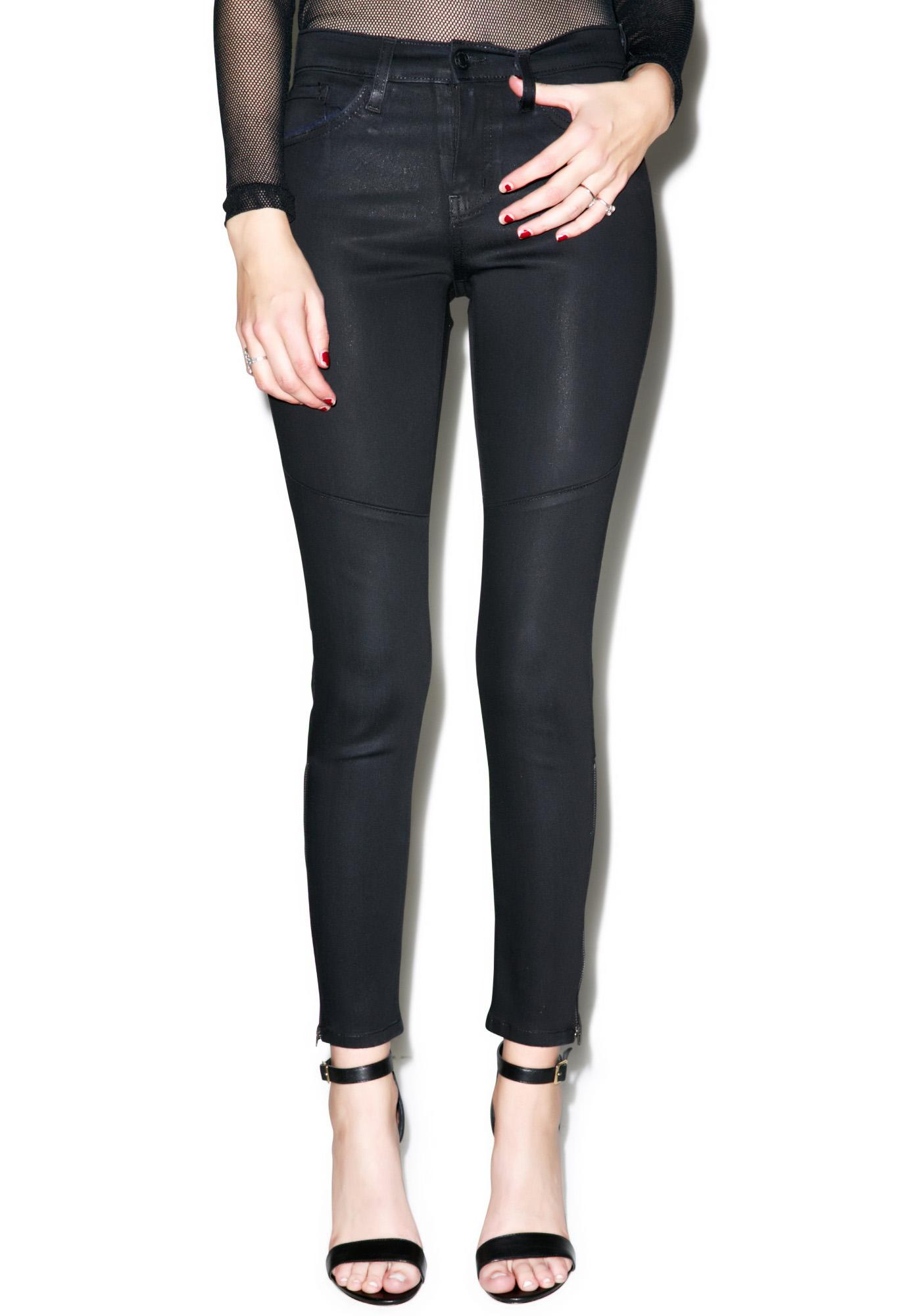 Fiona Ankle Zip Skinny Jeans