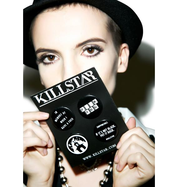 Killstar Pin Pack NO.2