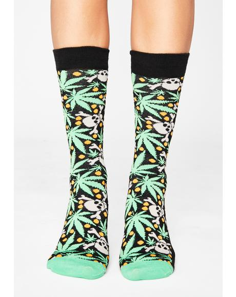 Kill It Dude Crew Socks