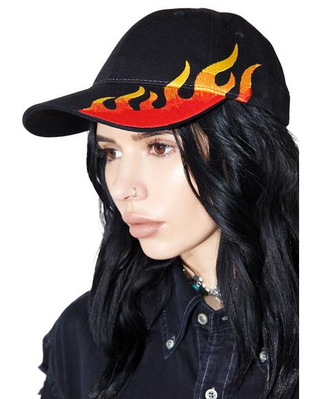Hellfire Baseball Hat