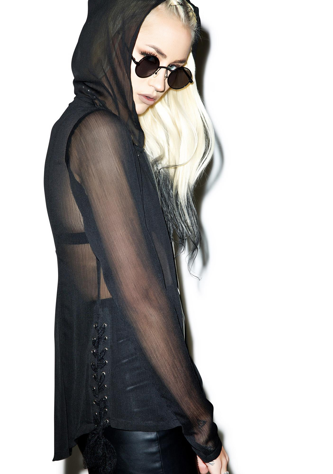 Tripp NYC Sheer Perfection Hoodie