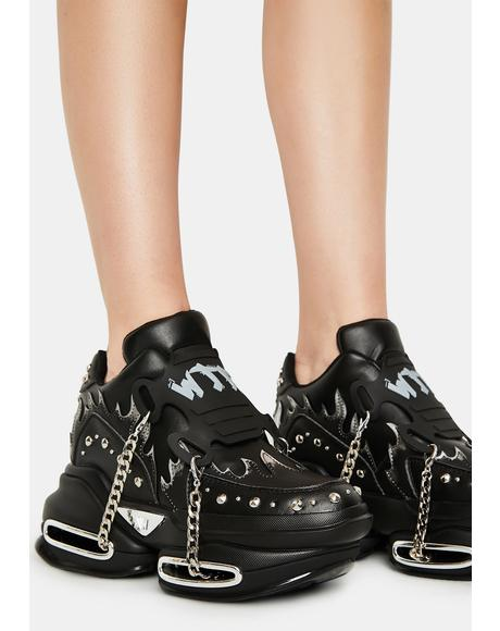 Big Rush Chain Platform Sneakers