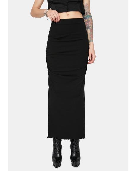 No Sense Midi Skirt