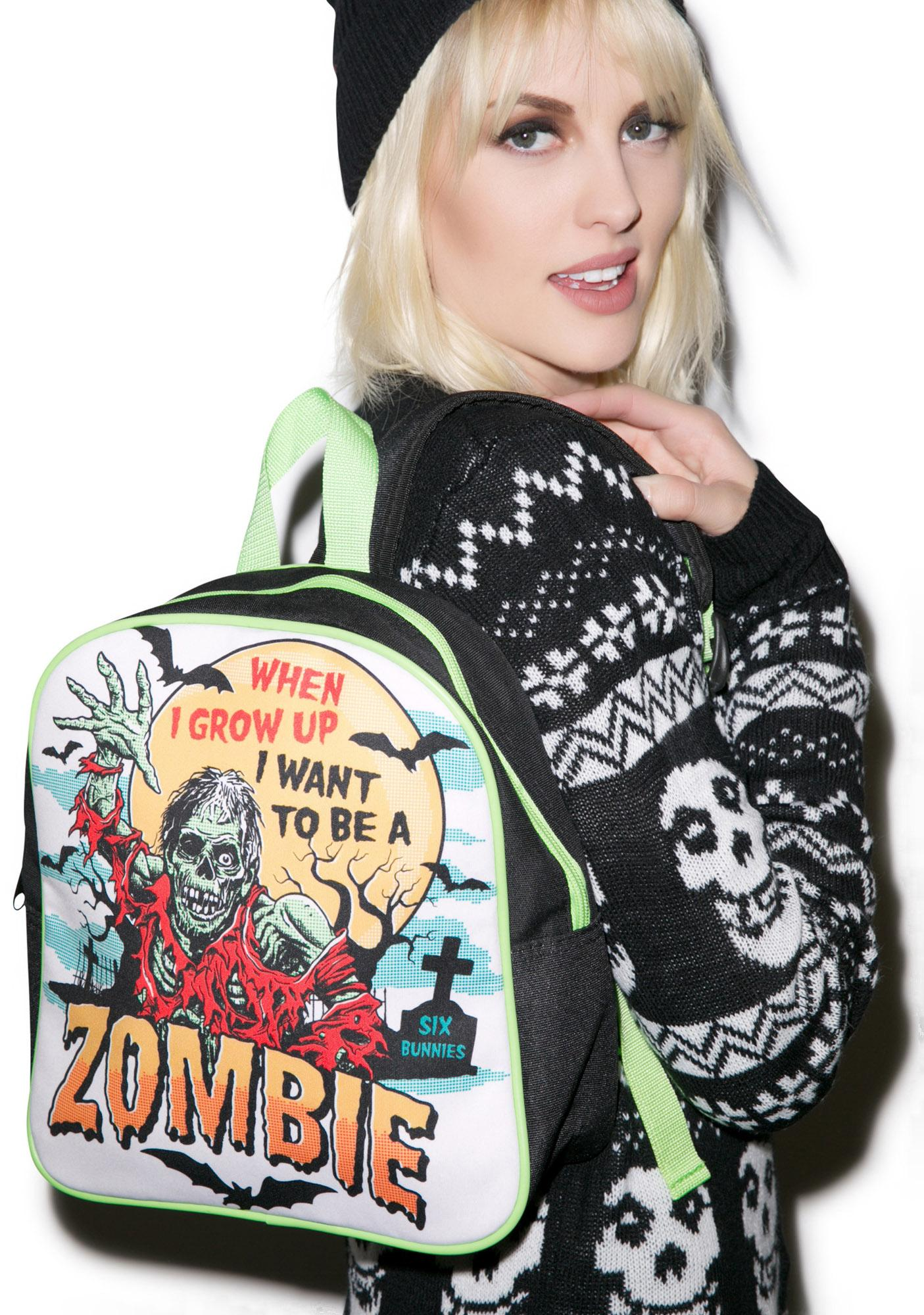 I Wanna Be A Zombie Backpack