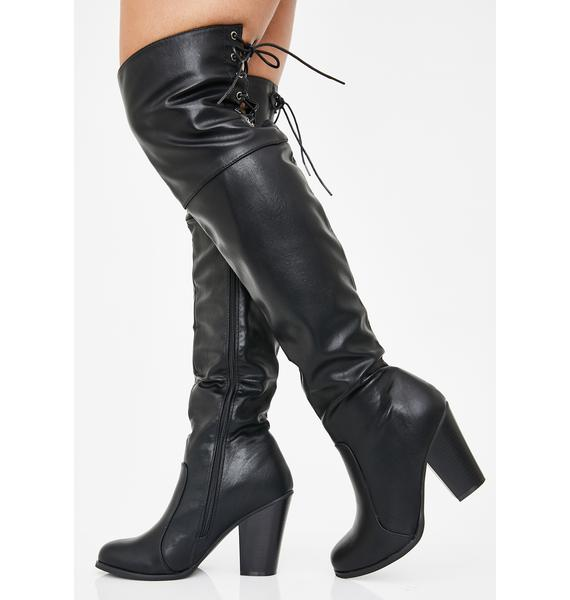 Diva Vixen Over The Knee Boots