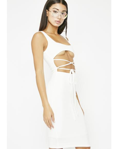 Icy Slay Sis Bodycon Dress