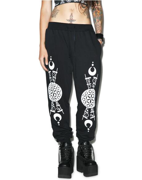 Grace Printed Joggers