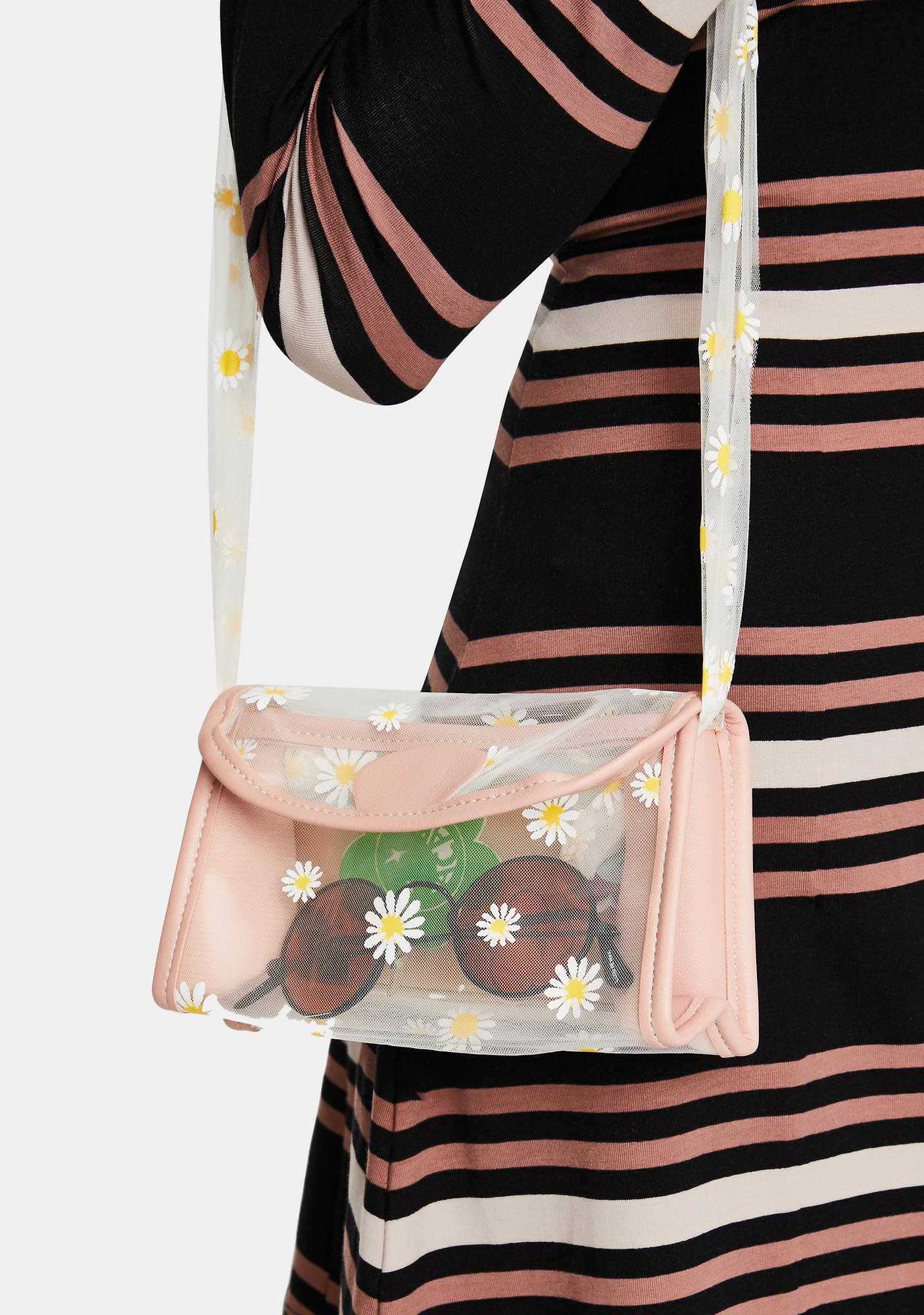 Pretty Daisy For U Crossbody Bag
