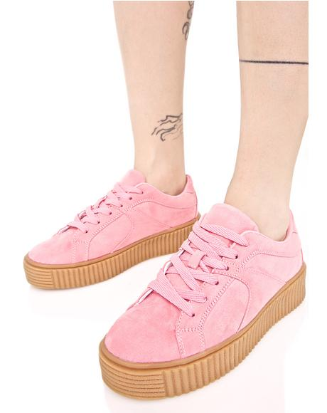 Blush Forward Motion Creeper Sneaker