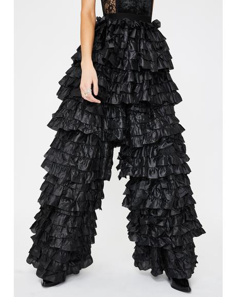 Luxe Edition Ruffle Pants