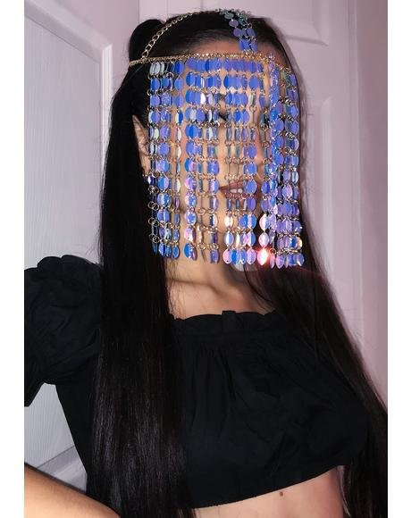 Deep Beyond The Magic Sequin Mask