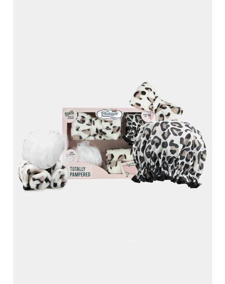 Totally Pampered Leopard Spa Set