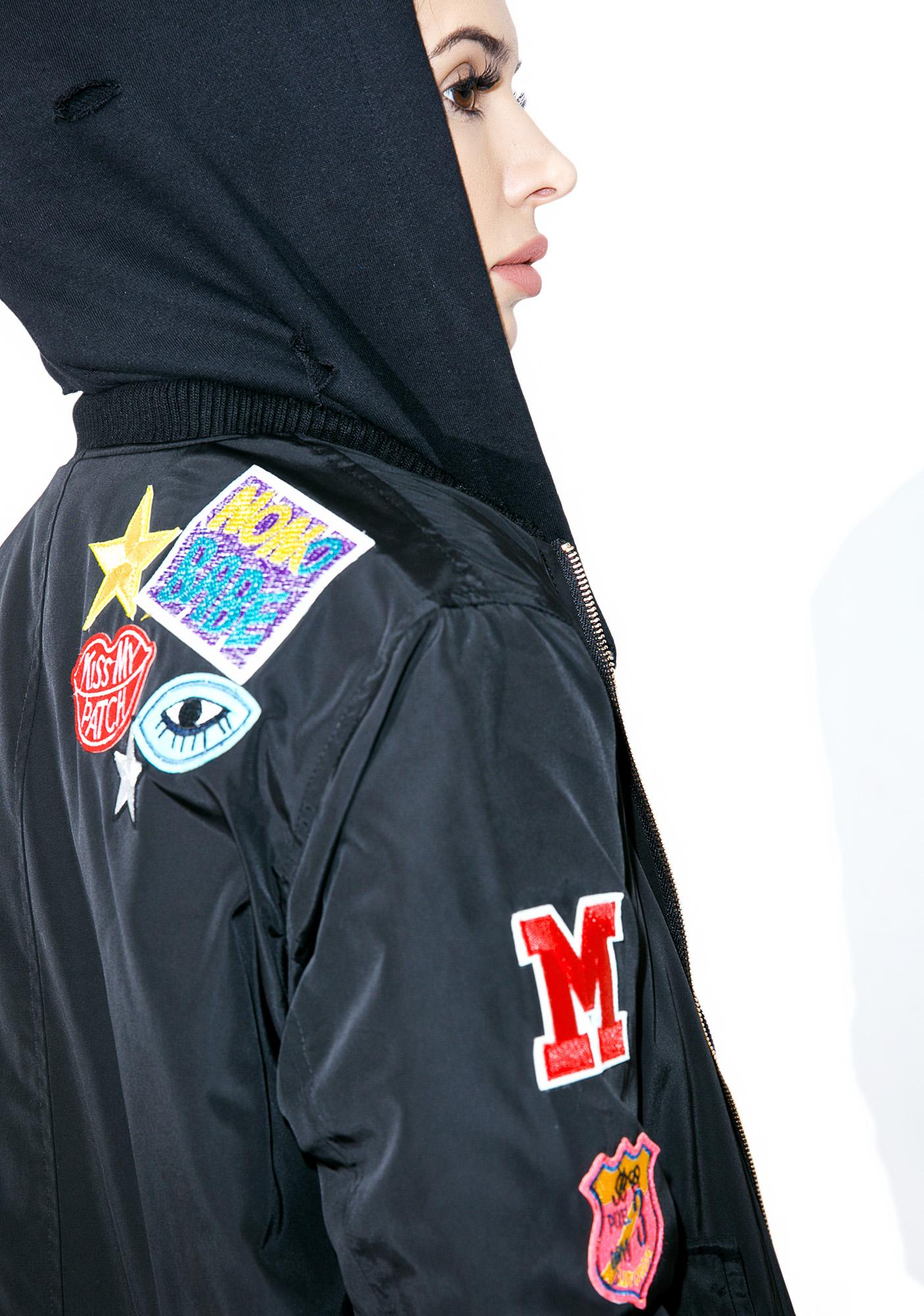 Glamorous Patch 'Em Up Bomber