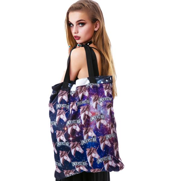 Mona Lisa KISS Vest Reversible Tote Bag