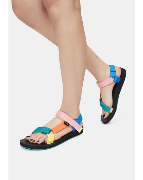 90s Multi Original Universal Sandals