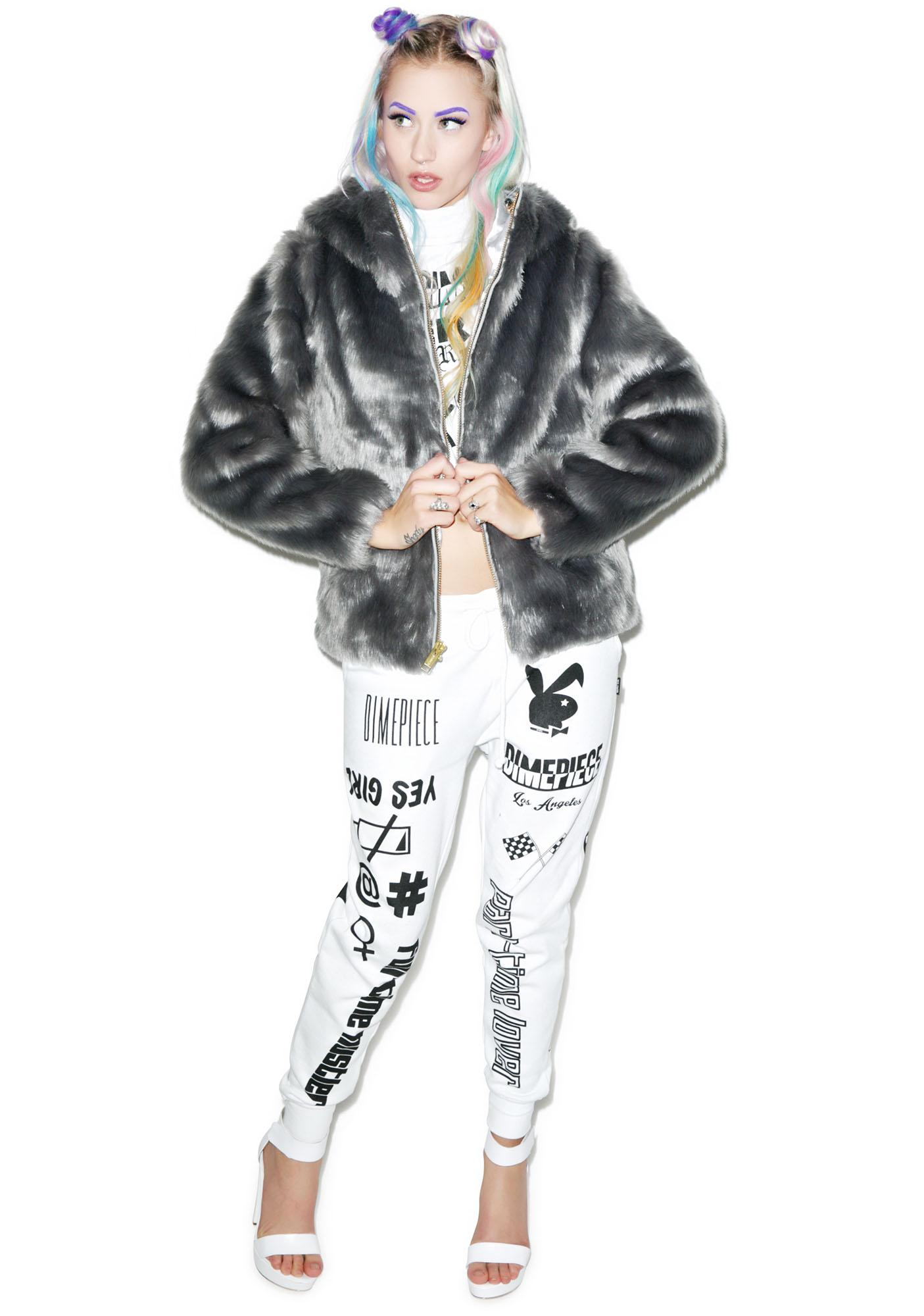 Joyrich Candy Fur Jacket