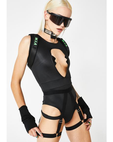 Raid Warrior Bodysuit N' Harness Set