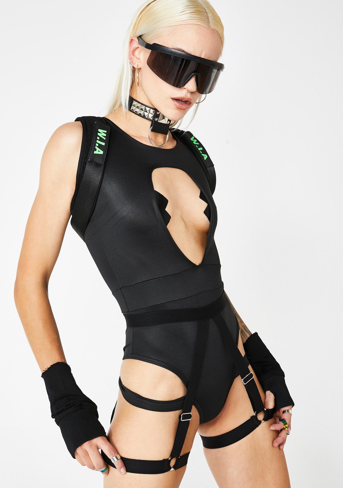 Raid Warrior Bodysuit N' Harness Set