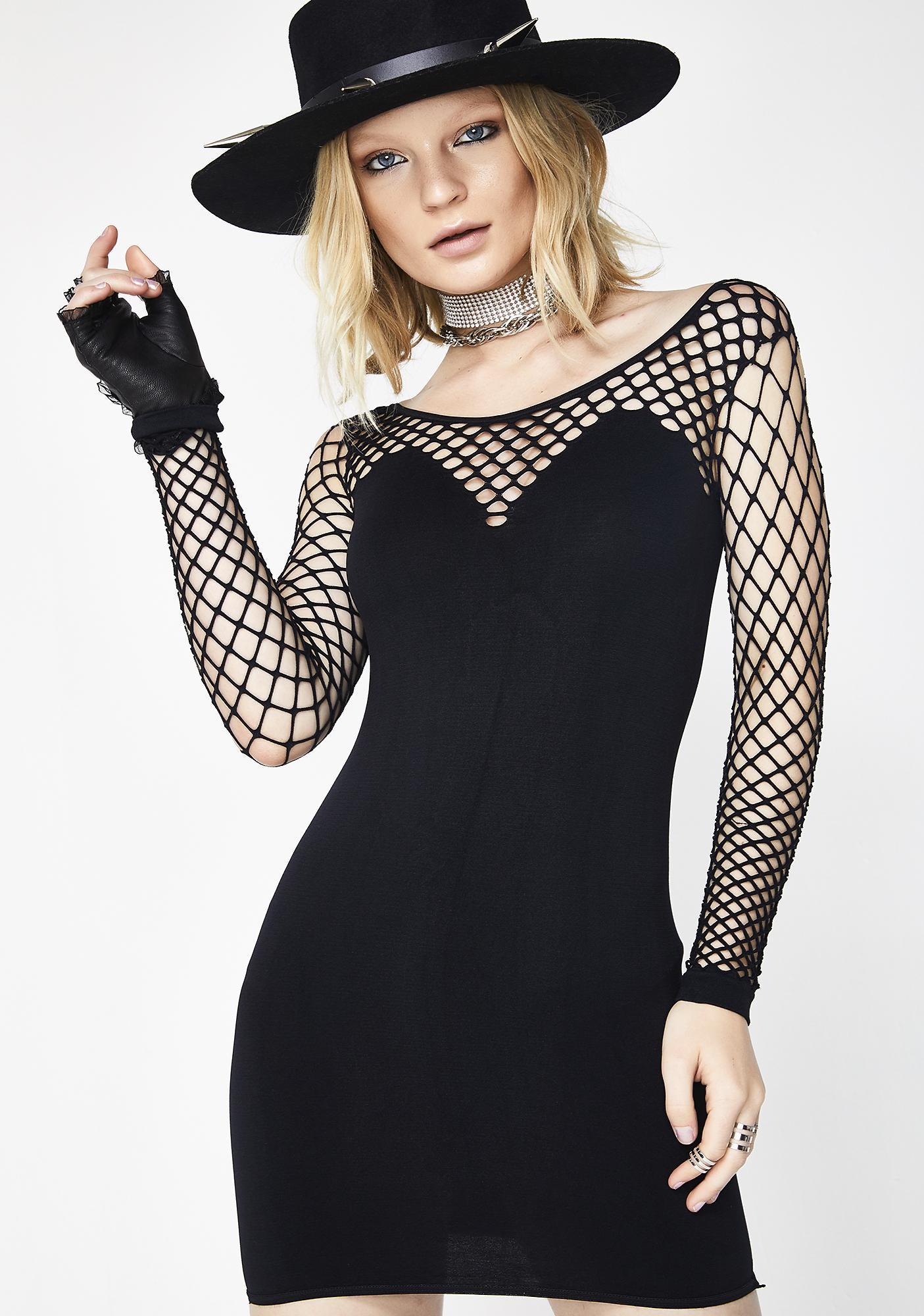 Feeling Dangerous Mini Dress