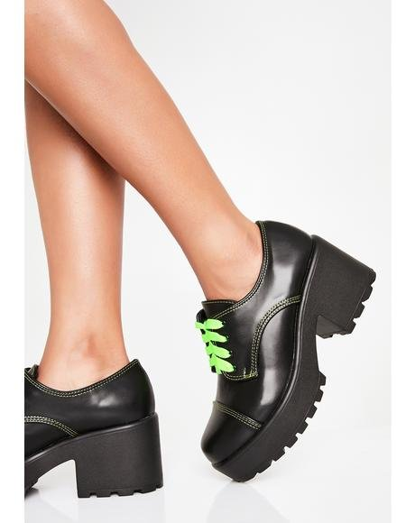 Slime Ario Platform Oxfords
