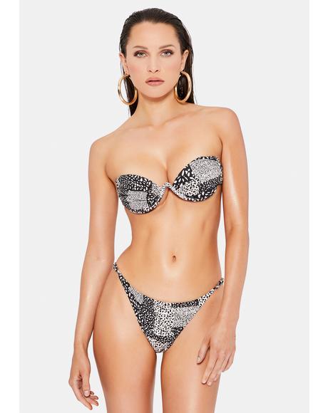 Tina Patchwork Bikini Set