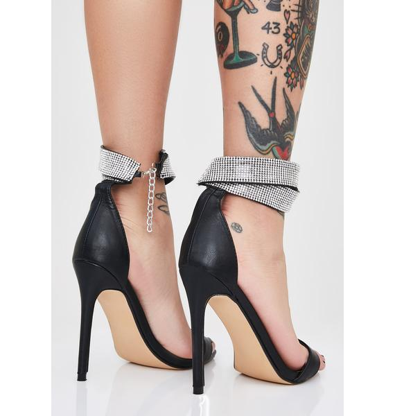 Wrapped In Bling Stiletto Heels