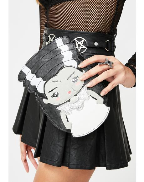 Mrs. Frankenstein Crossbody Bag