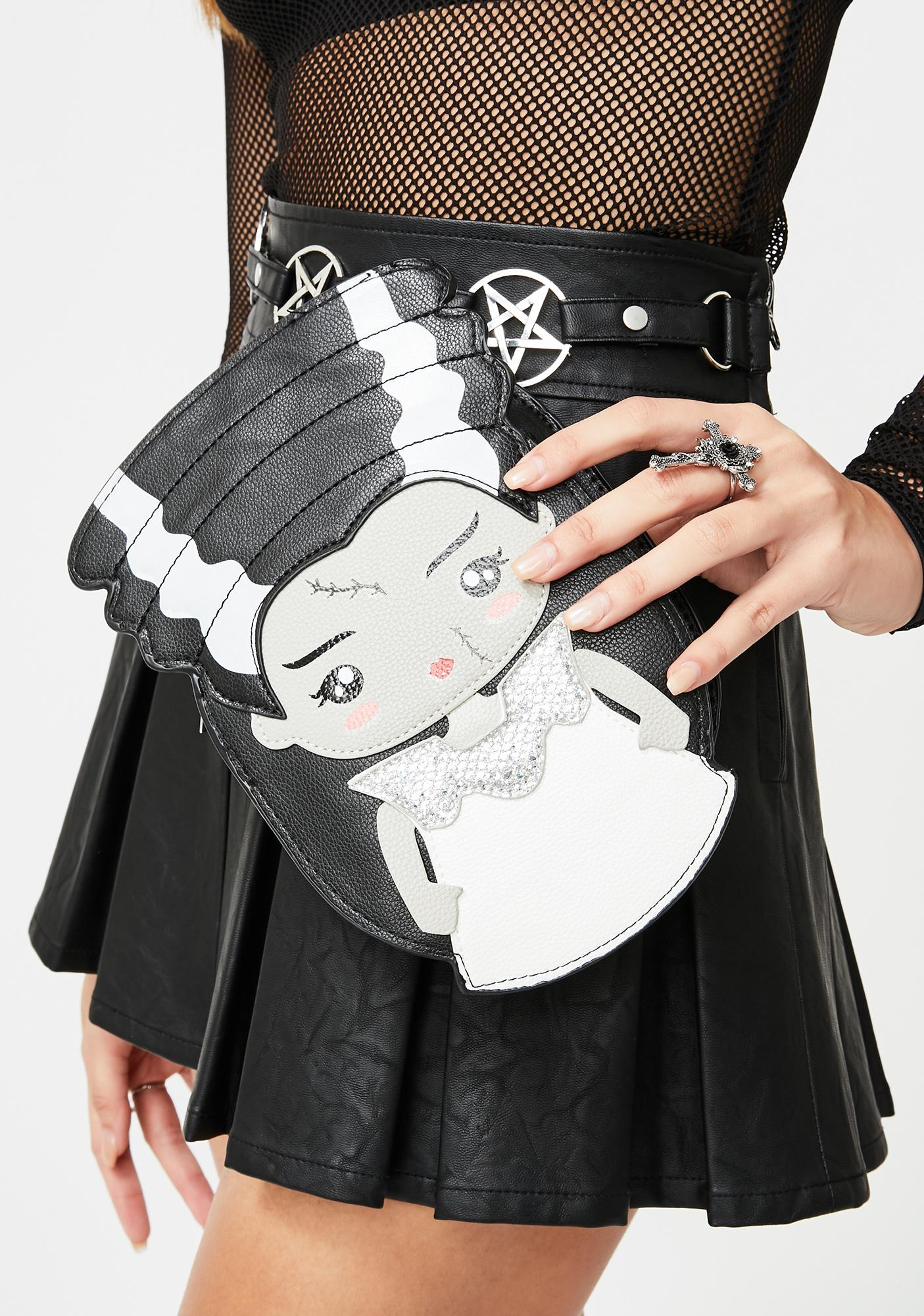 Mrs. Frankenstein Crossbody Bag by