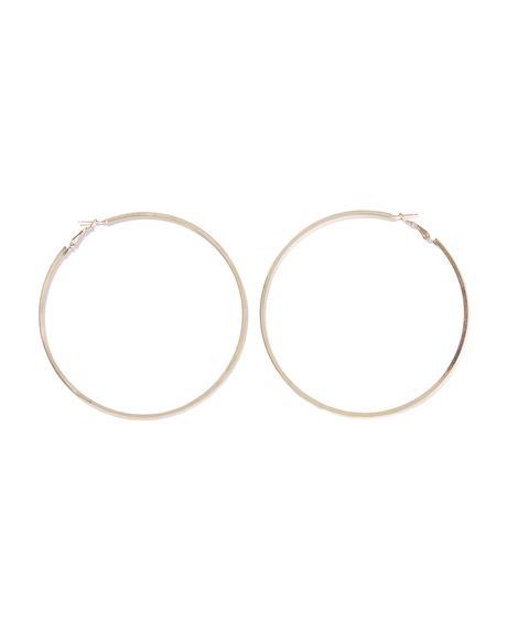 Go For Gold Hoop Earrings