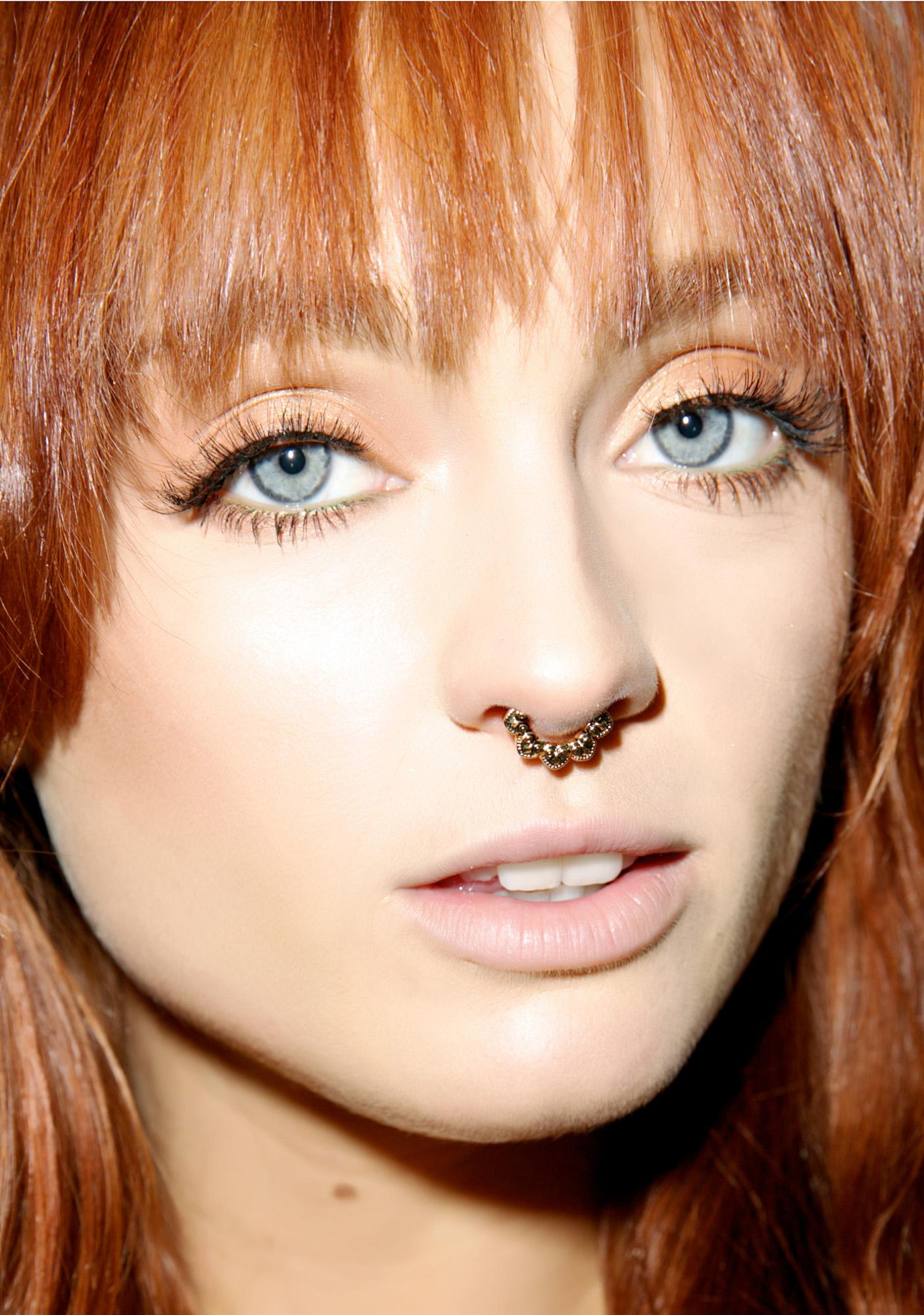 Owl Be Seein' You Septum Ring