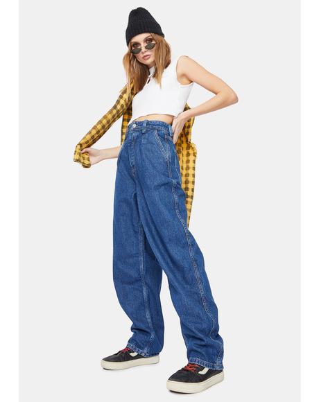 Vintage Blue Erin Cocoon Jeans