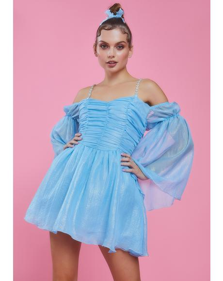 Sky Let Them Eat Me Chiffon Corset Dress