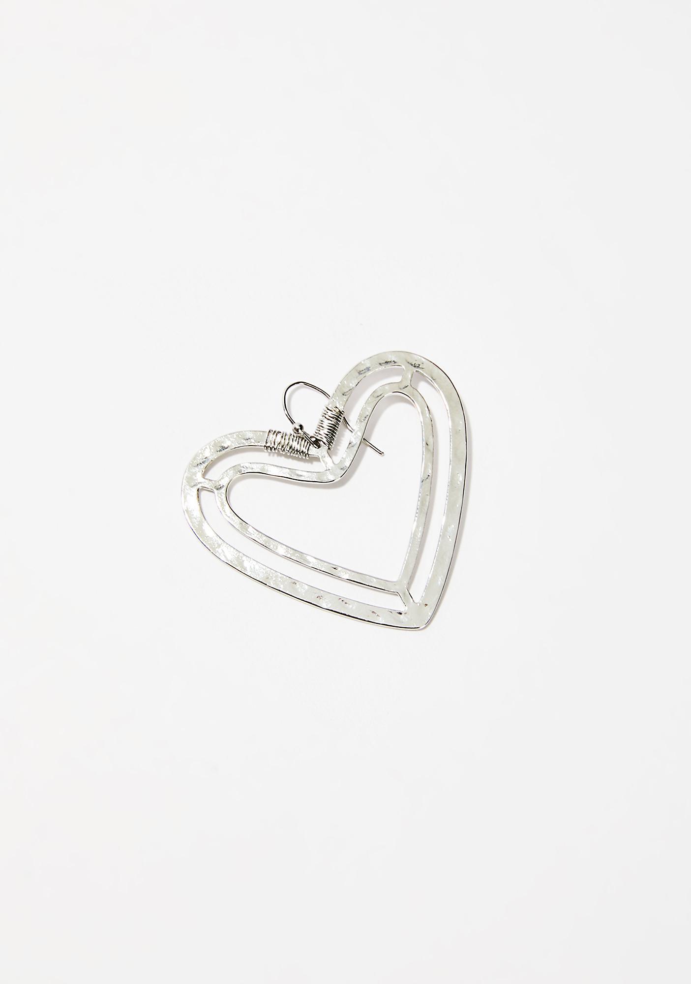 Big Heart Earrings