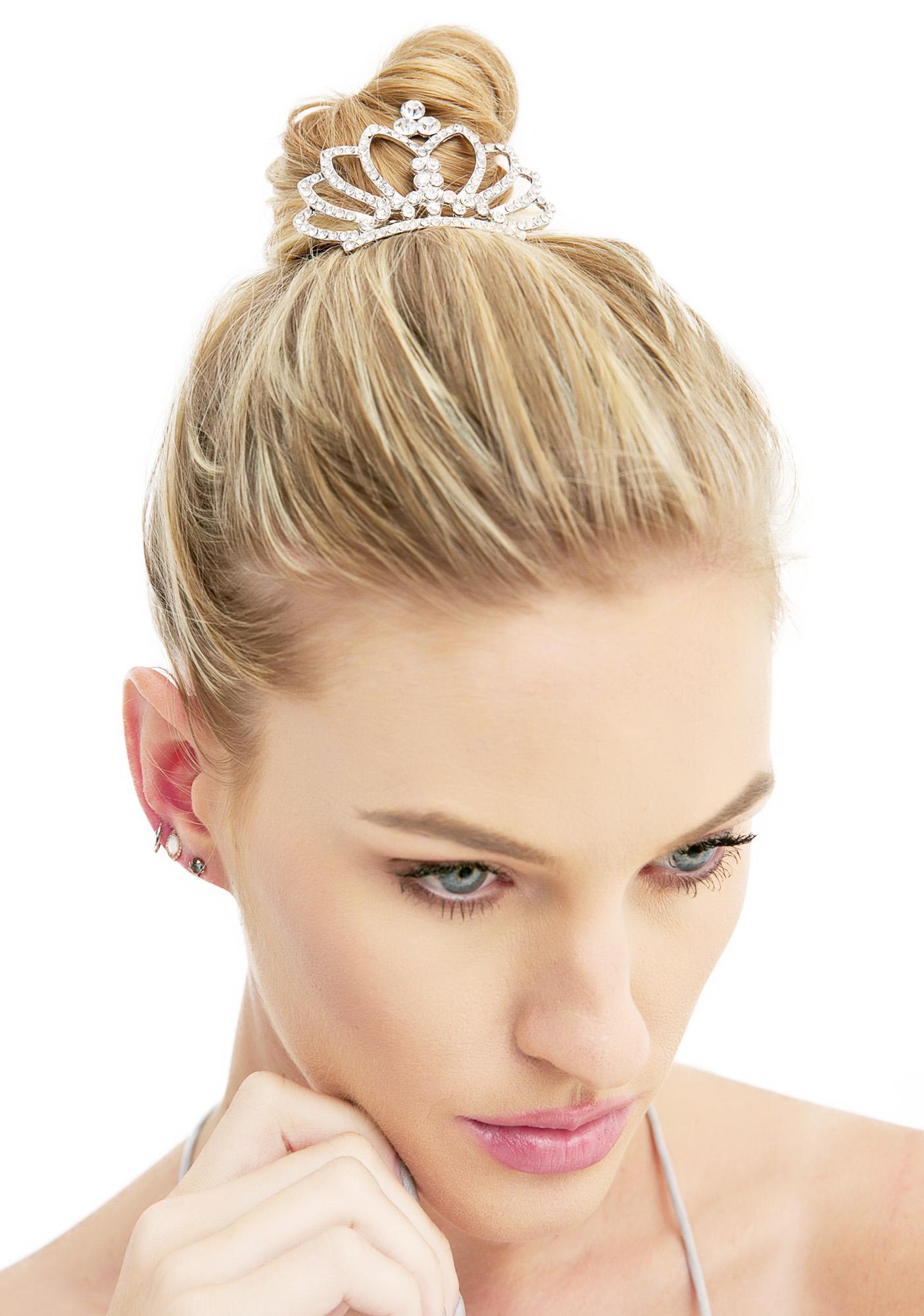 Clara Tiara Hair Comb