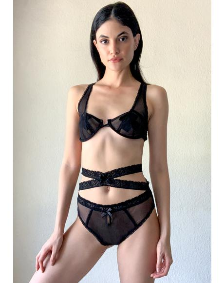 Centerfold Syndrome Lace Set