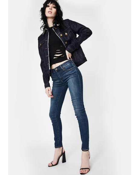 Aaron Sarah Skinny Jeans