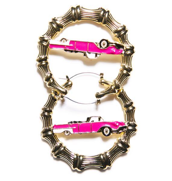 Joyrich Bamboo Car Earrings