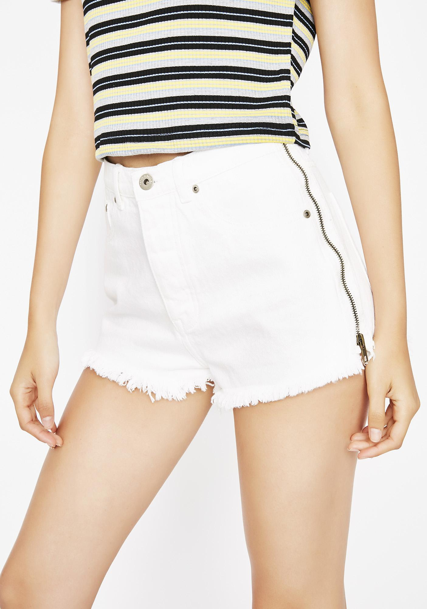 Can't Zip It Denim Shorts