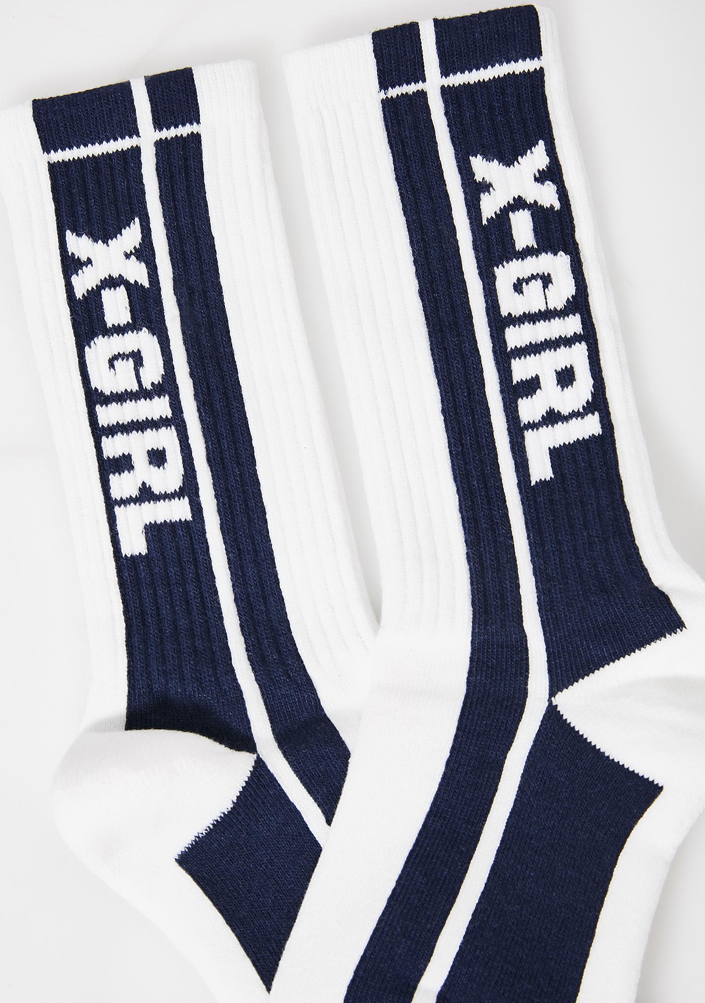 x-Girl Pit Crew Socks