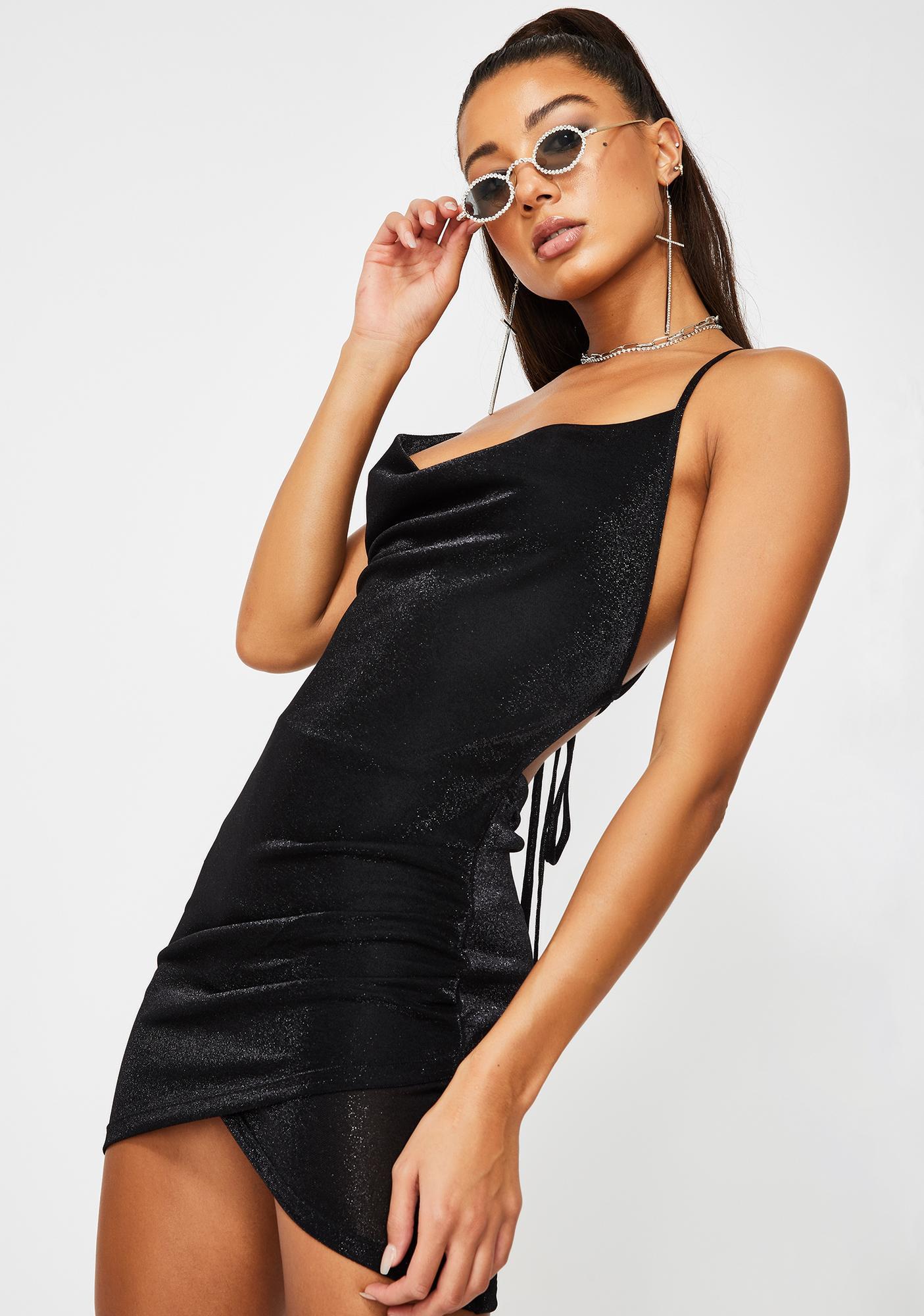 Kiki Riki Ur Just Jelly Cowl Dress