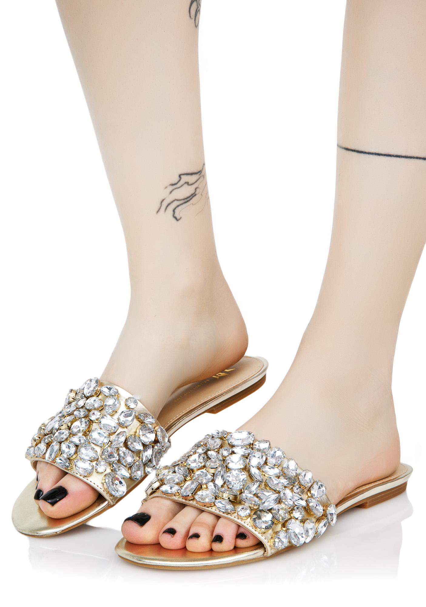 Lust For Life Dazzle Jeweled Slides