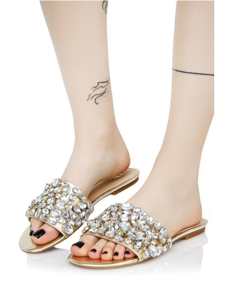 Dazzle Jeweled Slides