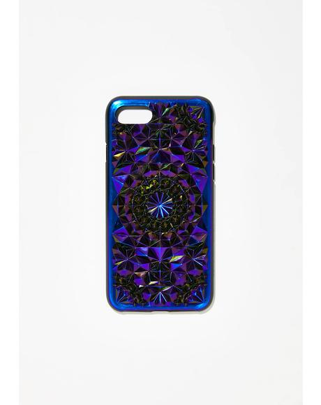 Cosmic Kaleidoscope iPhone Case